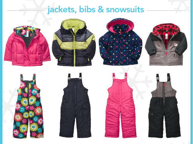 Jackets, bibs & snowsuits